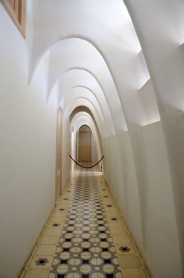 Inside of Casa Batllo, Barcelona royalty free stock photos