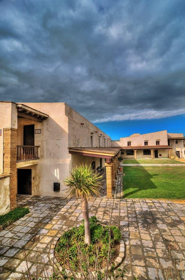 Inside the Castillo de Santa Catalina