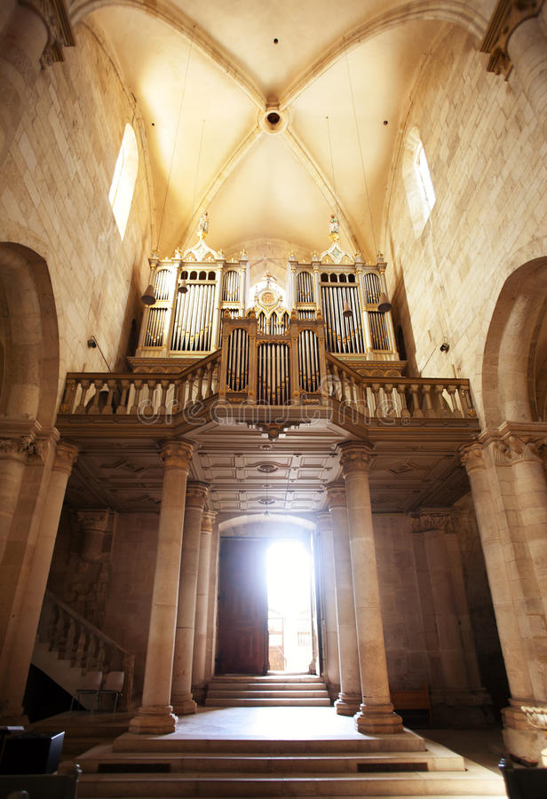 Download Inside cathedral stock image. Image of massive, church - 24040363