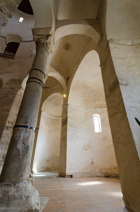 Inside of a Church. Zadar