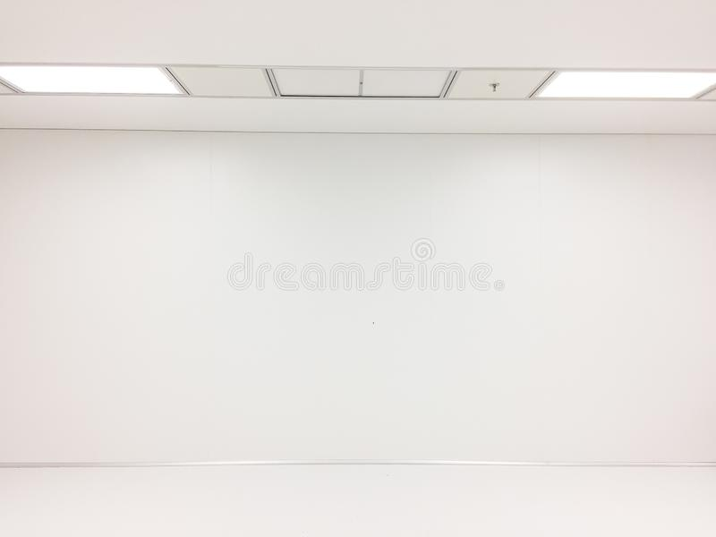 Inside Clean room class 10000 at factory,empty room.  royalty free stock image