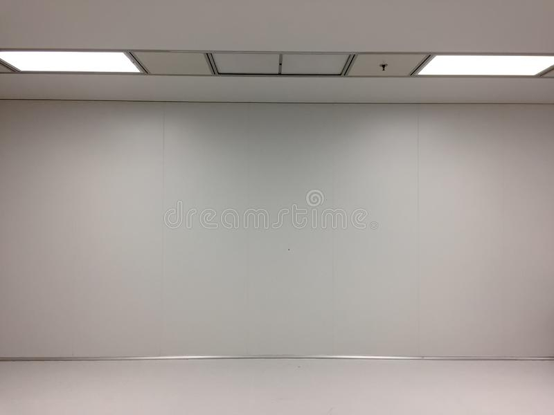 Inside Clean room class 10000 at factory,empty room.  royalty free stock photo