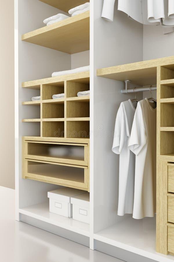 Download Inside The Closet 3d Rendering Stock Illustration   Illustration  Of Open, Dress: 6807562