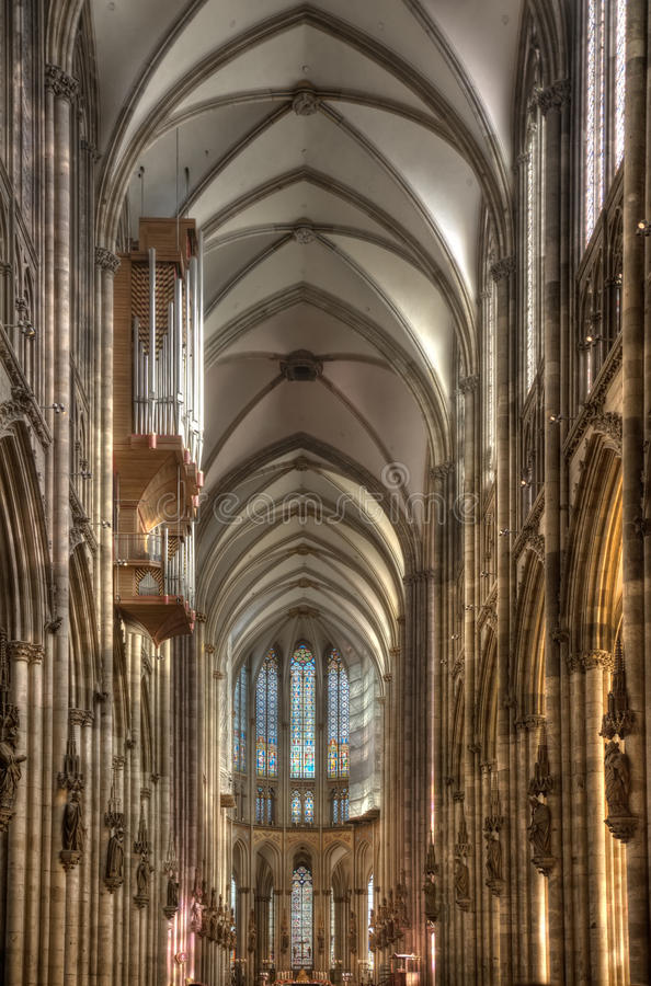 Download Inside Cologne Cathedral stock photo. Image of koeln - 35753448