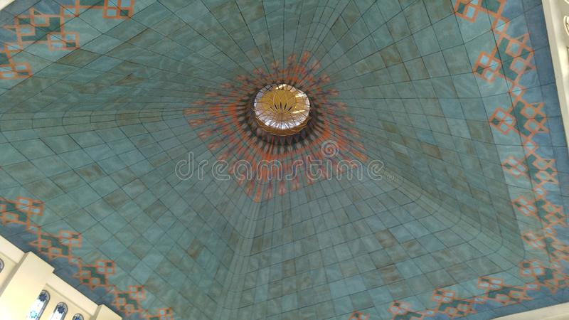 Inside the Dome royalty free stock photos