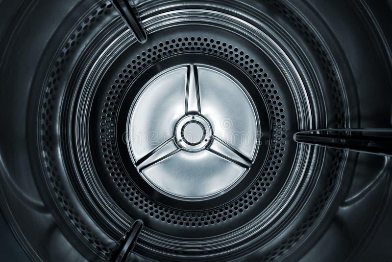 Inside the dryer stock image