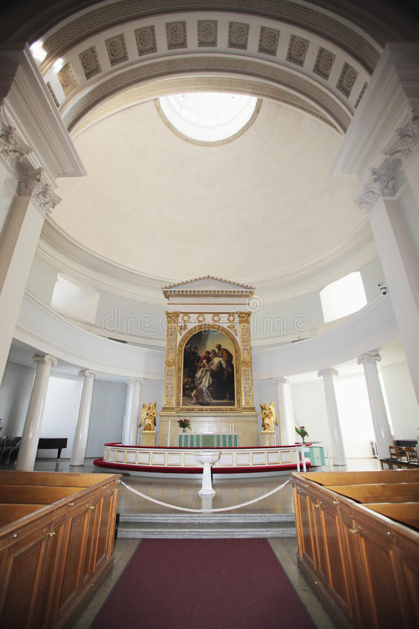 Download Inside Europe Ancient Church Stock Photo - Image: 12468934