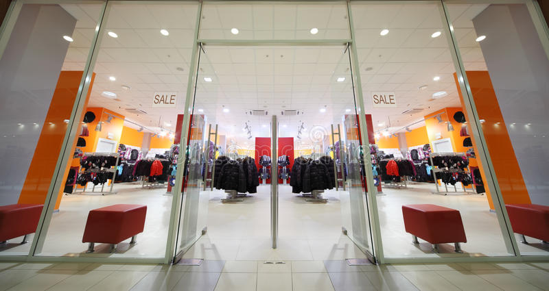Download Inside Fashion Store Of Sport Wear Stock Image - Image: 20570751