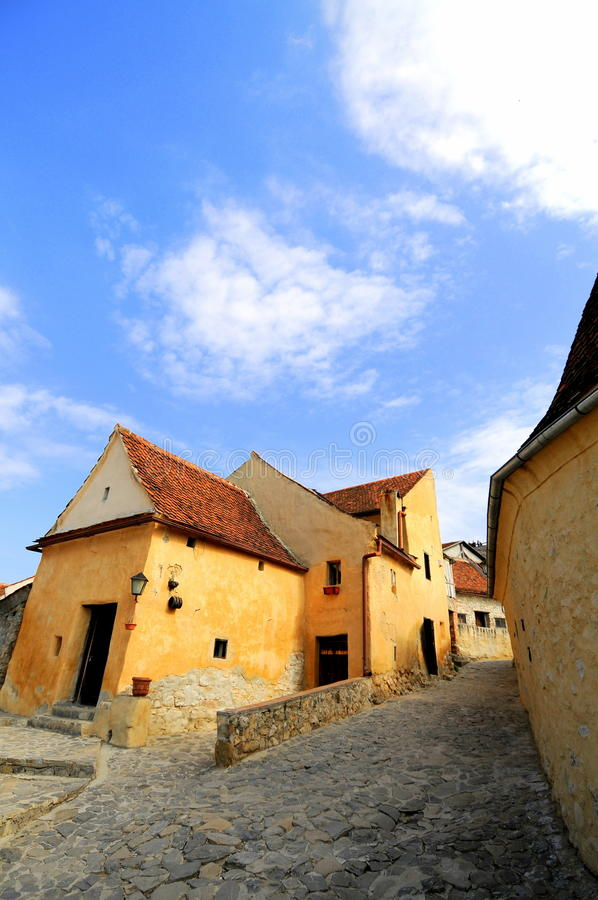 Download Inside The Fortress Of Rasnov, Romania Stock Image - Image: 14642333
