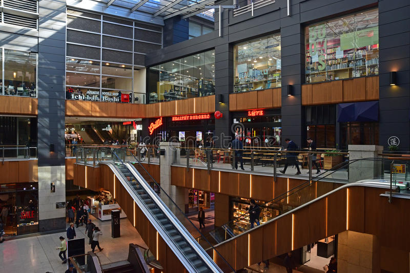 Inside The Galeries Victoria at George Street Sydney royalty free stock photo