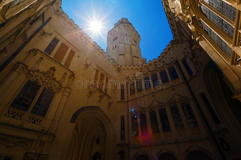 Inside gotyka kasztel zdjęcia royalty free
