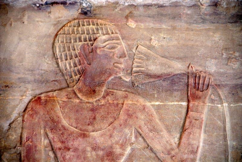 Download Inside Harkuf's tomb stock image. Image of hieroglyphs - 3855917