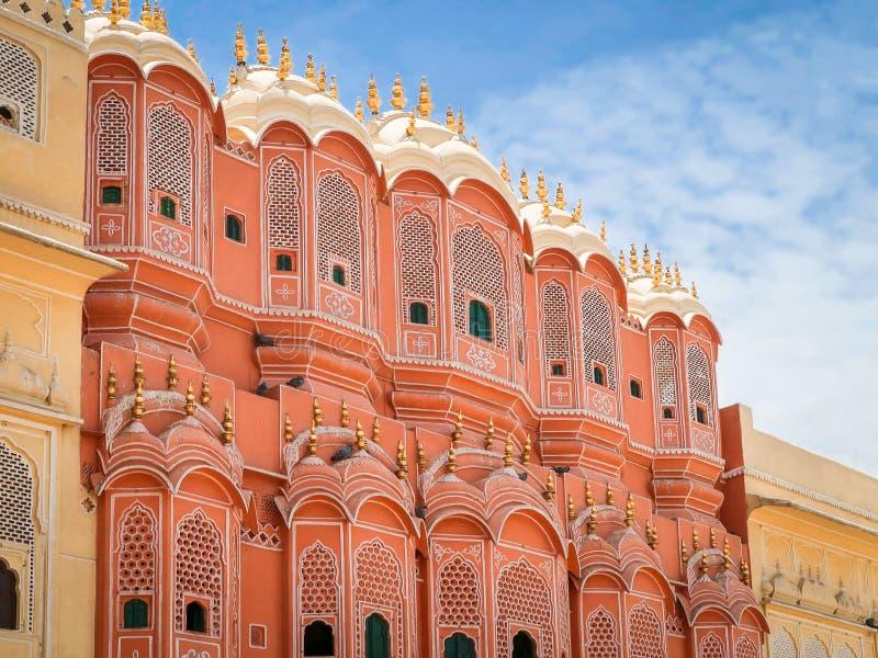 Hawa Mahal, the Palace of Winds, Jaipur, Rajasthan, India. Inside of Hawa Mahal, the Palace of Winds, Jaipur, Rajasthan, India stock images