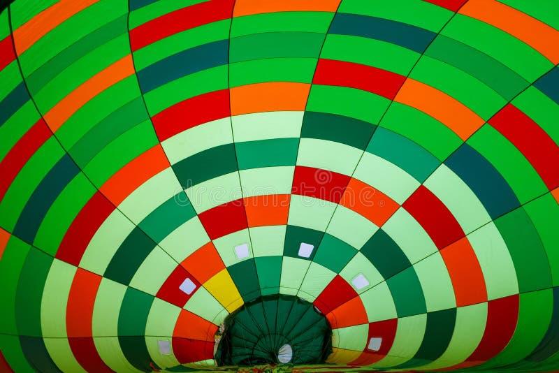 Inside in hot air balloon royalty free stock photos