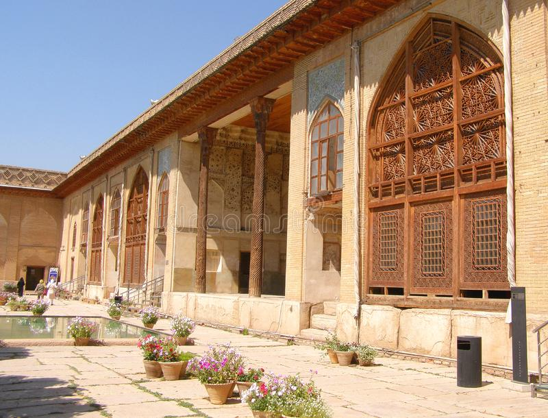 Inside of Karim Khan citadel in the city of Shiraz,. Iran stock images