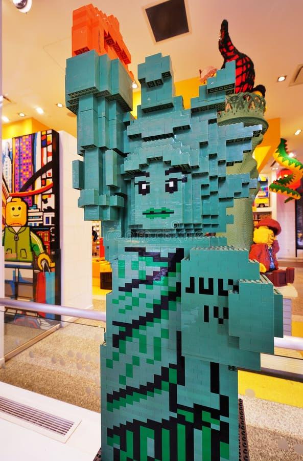 Inside The Lego Store In Rockefeller Center In New York City ...