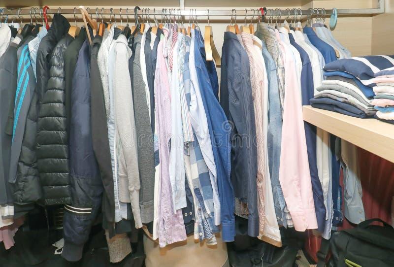 Download Inside Male Closet Stock Photo. Image Of Closet, Jacket   82063308