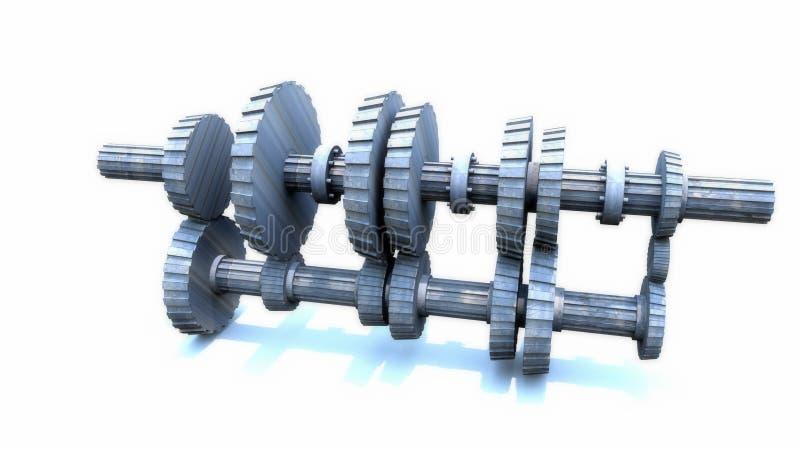 inside of a manual transmission stock illustration image 74438244. Black Bedroom Furniture Sets. Home Design Ideas