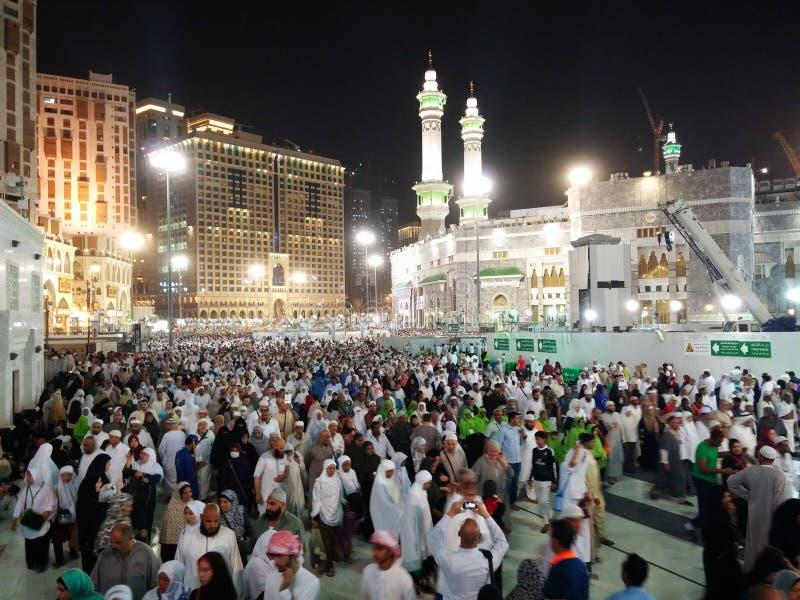 Inside mekka fotografia royalty free