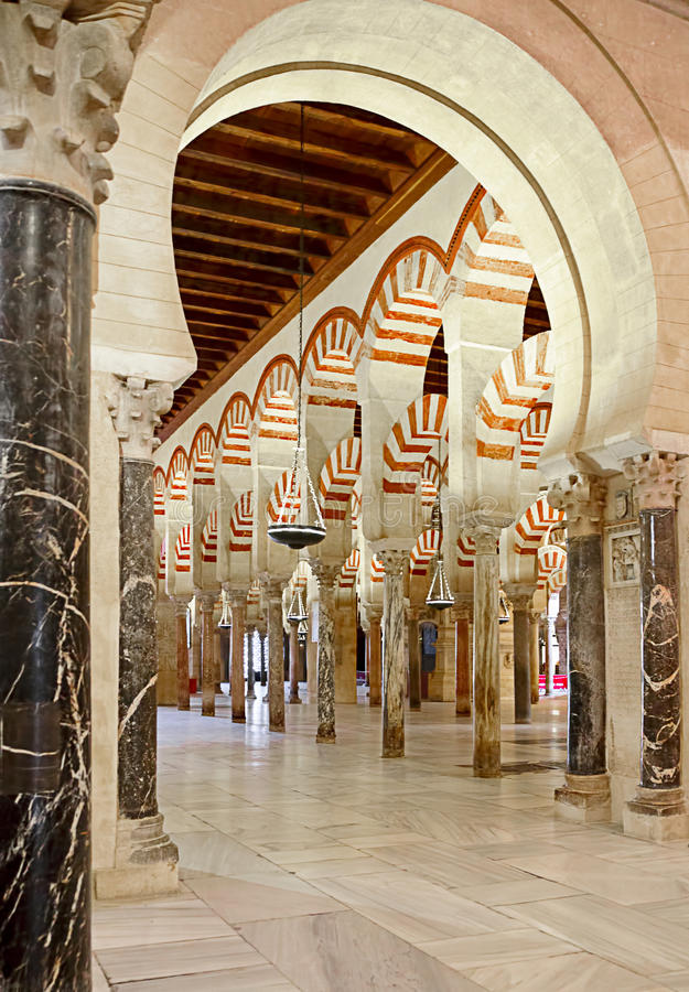 Download Inside The Mezquita Of Cordoba, Spain Stock Photo - Image: 16138906