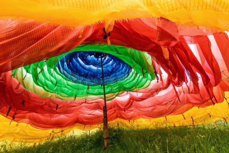 Inside modlitwy flaga wierza zdjęcie royalty free