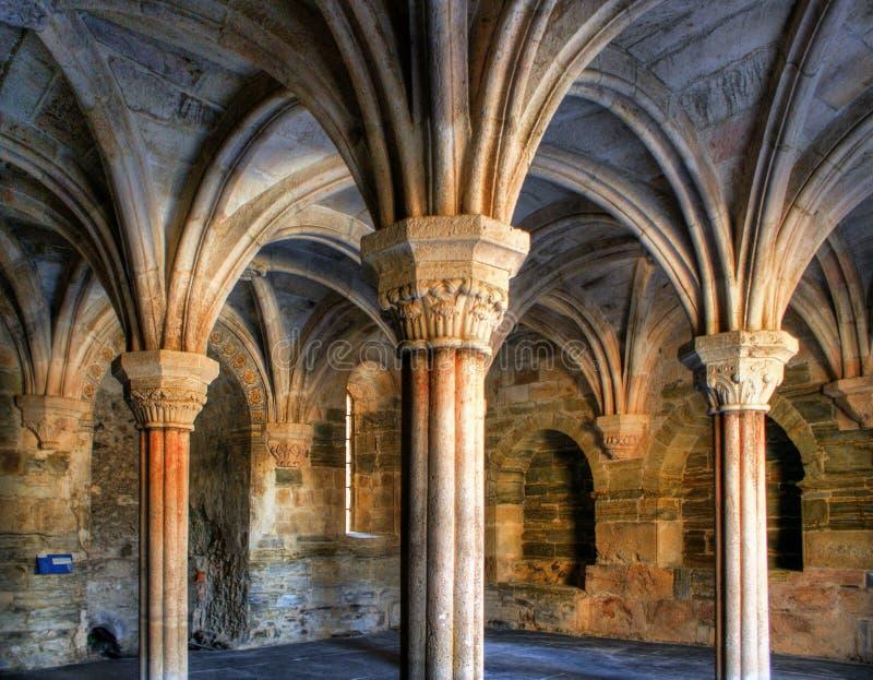 Download Inside Monastery Of Carracedo On Bierzo Stock Image - Image: 71145897