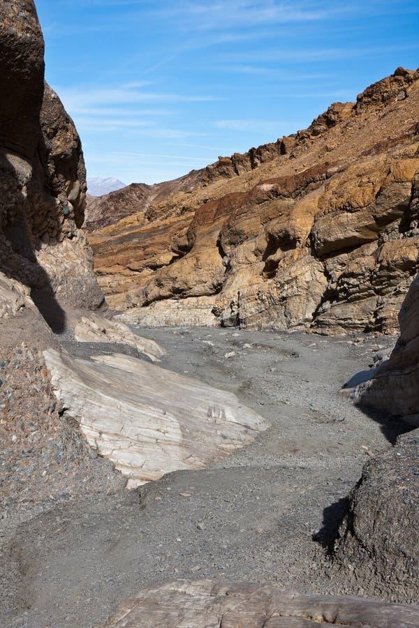 Inside Mosaic Canyon Narrows royalty free stock photo