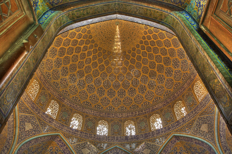 Inside mosque royalty free stock photography