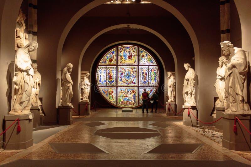 Museo dell`Opera metropolitana royalty free stock photos