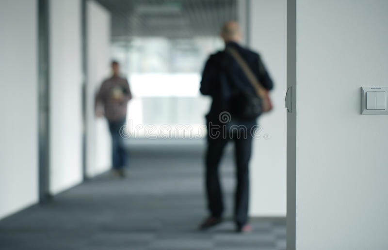 Inside office building stock images