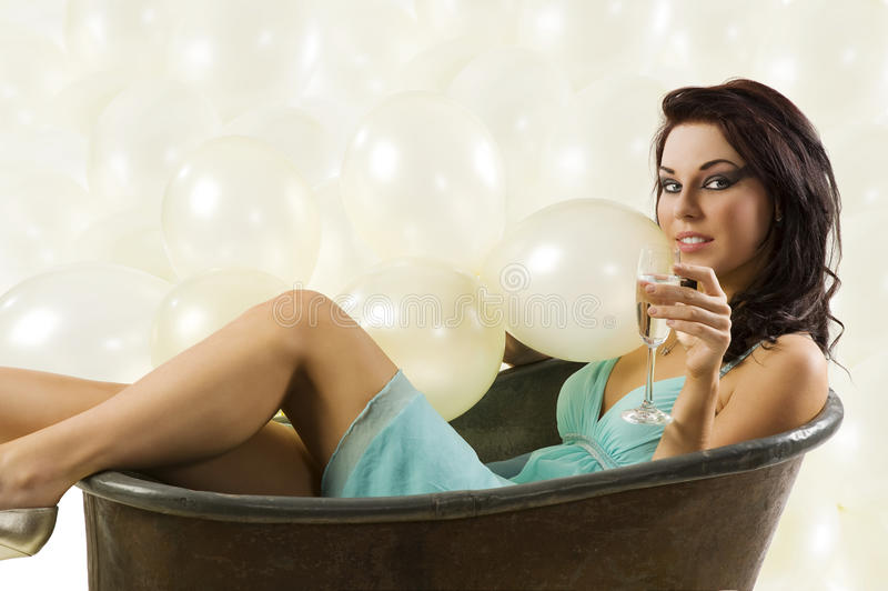 Download Inside An Old Fashion Bath Stock Photography - Image: 11838072