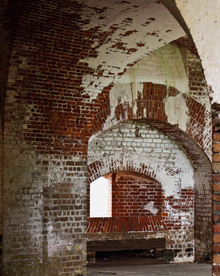 Inside Old Fort Royalty Free Stock Image