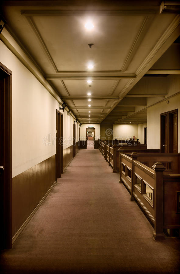 Download Inside the old hotel stock image. Image of accomodation - 23602059