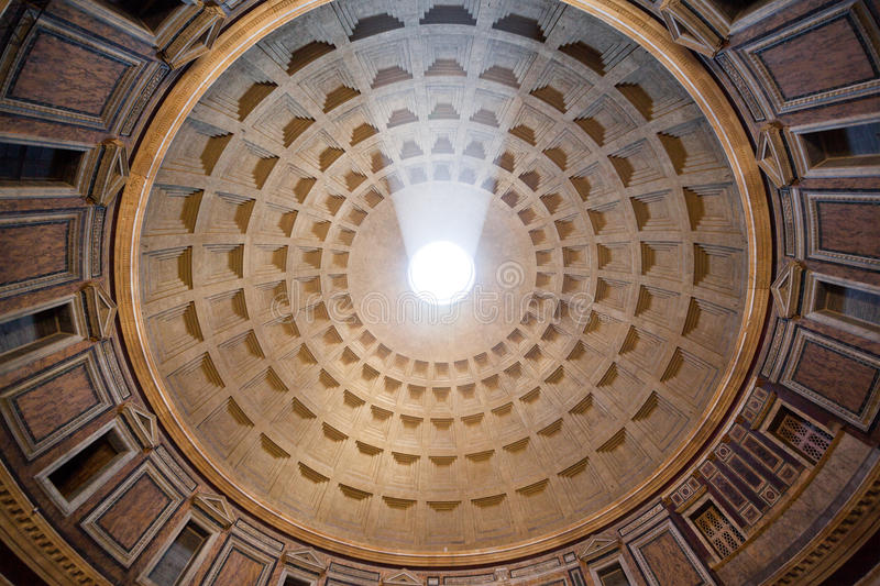 Inside The Pantheon Rome Italy Royalty Free Stock Image