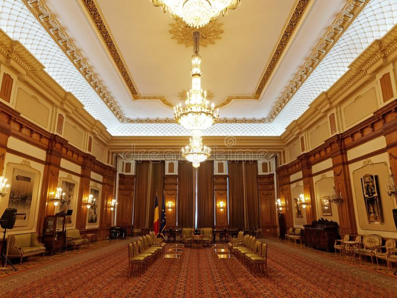 Beau Download Inside Of Parliament House In Bucharest, Romania Stock Photo    Image Of Romania,