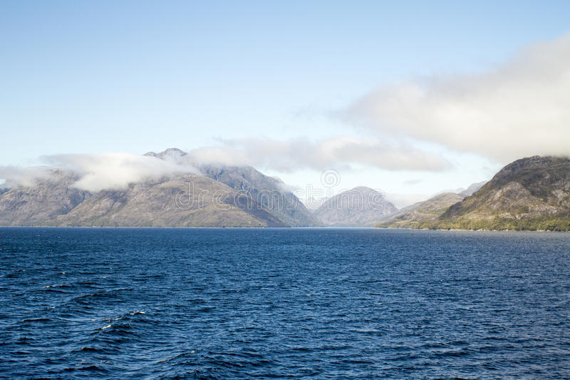 Download Inside Passage Of The Chilean Fjords Stock Photo - Image: 79629320