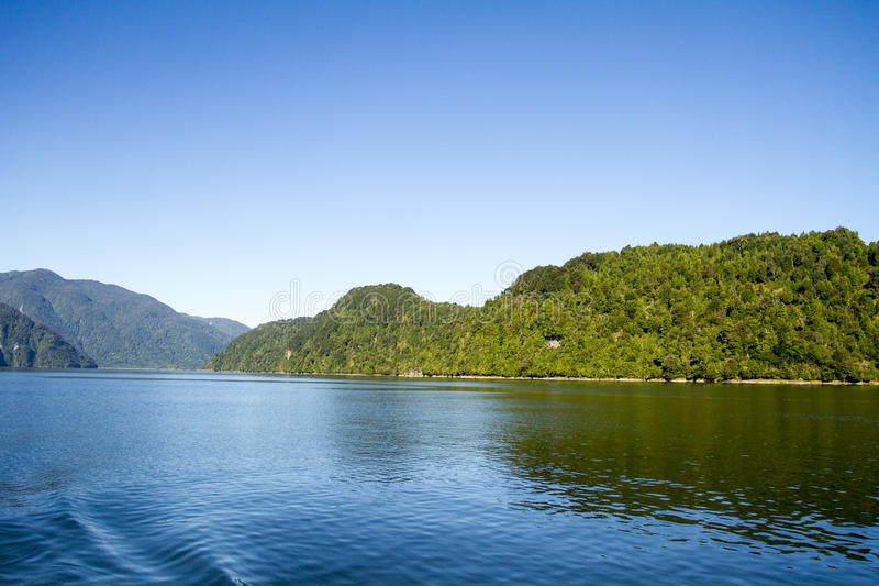 Download Inside Passage Of The Chilean Fjords Stock Image - Image of destination, coastline: 79631293