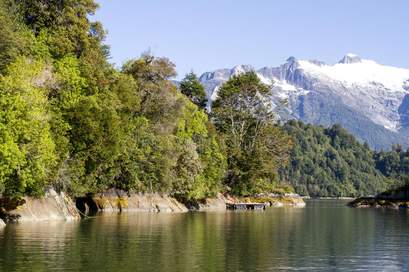 Download Inside Passage Of The Chilean Fjords Stock Image - Image: 79631517