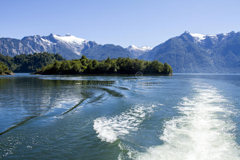 Download Inside Passage Of The Chilean Fjords Stock Photo - Image: 79631918