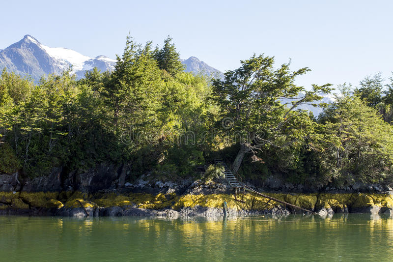 Download Inside Passage Of The Chilean Fjords Stock Photo - Image: 79643368