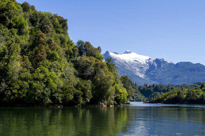 Download Inside Passage Of The Chilean Fjords Stock Image - Image of global, natural: 79643567
