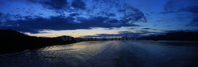 Download Inside passage sunset stock image. Image of leisure, iceberg - 22508645