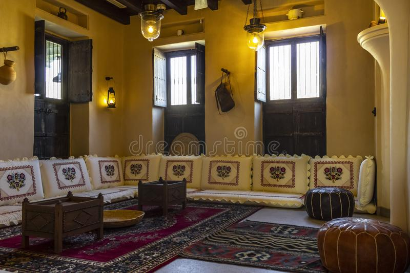 Admirable Room In Arabic Style Stock Photo Image Of Design Couch Home Interior And Landscaping Elinuenasavecom