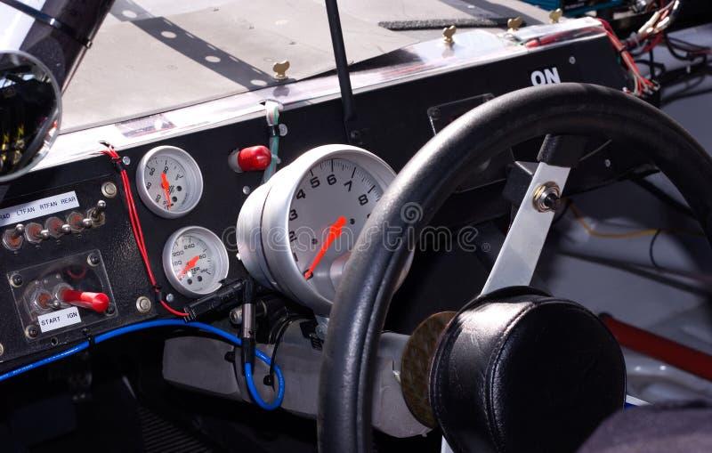 Inside Racecar stock photo
