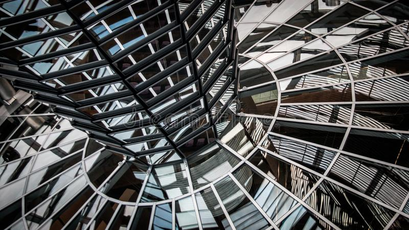Reichstag Dome stock photos