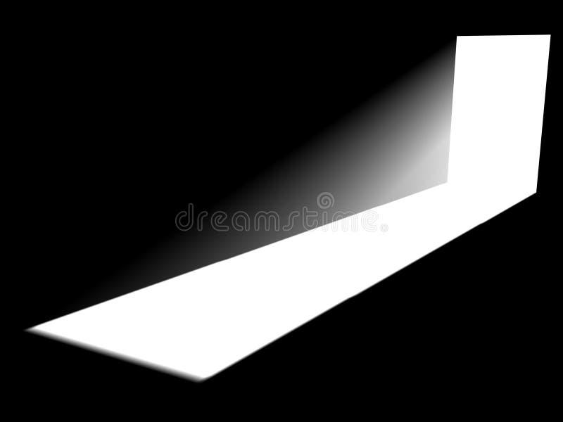 Inside a room vector illustration