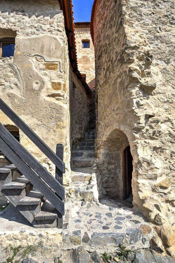 Rupea fortress, Romania royalty free stock photos