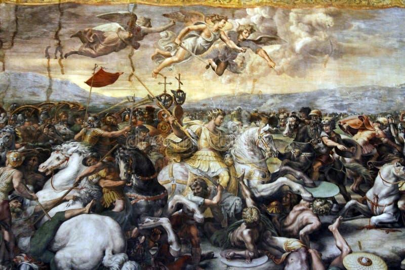 Inside of Saint Peter's Basilica royalty free stock photos