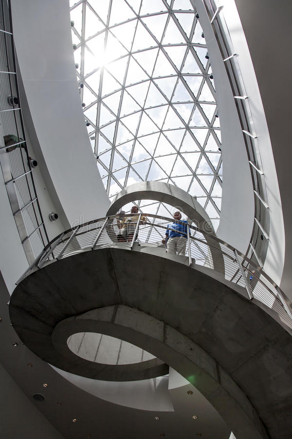 Download Inside The Salvador Dali Museum Editorial Stock Photo - Image: 27673023