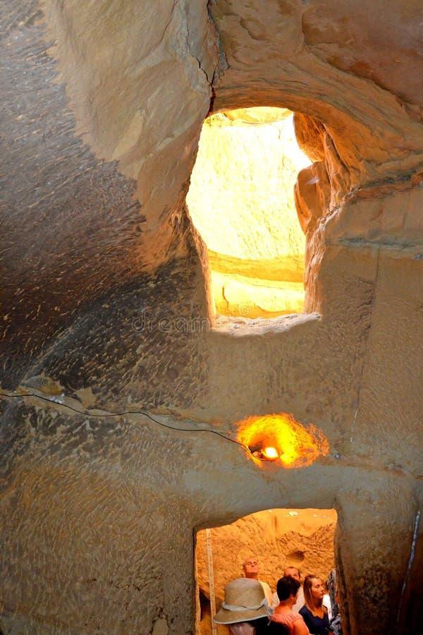 Free Inside Sinca Veche Cave Monastery Royalty Free Stock Photos - 75389438